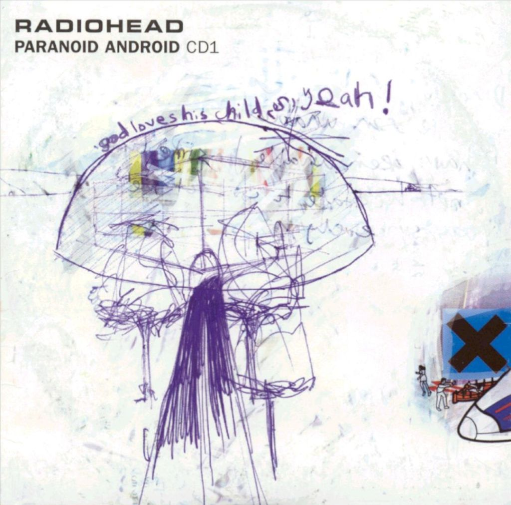 Packaging for Radiohead's single Paranoid Android