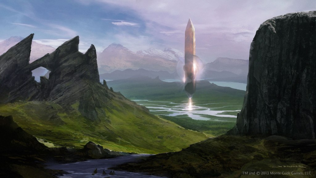 The Ninth World of Numenera.