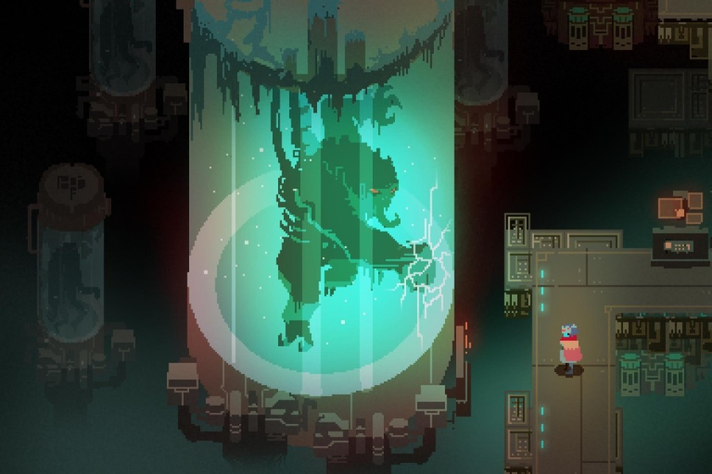 Scene from Hyper Light Drifter