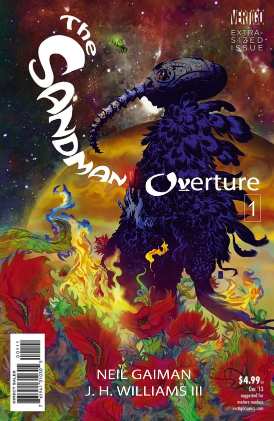 Cover to Sandman Overture #1 by DC Comics.