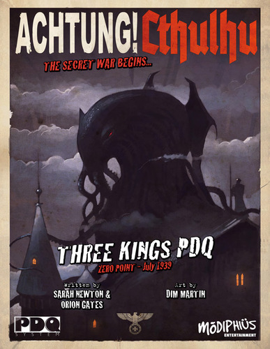 Achtung! Cthulhu - PDQ Core Rulebook