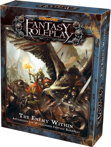 The Enemy Within Boxed Set for Warhammer Fantasy Roleplay by Fantasy Flight Games