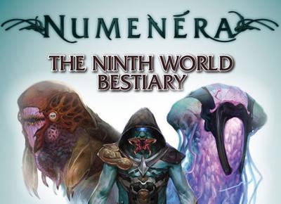 BEASTS OF WONDER & WEIRDNESS – THE NINTH WORLD BESTIARY –NUMENERA