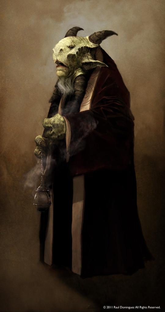 Art by Raul Dominguez. (Source: http://ganas1.blogspot.com/2011/04/karellen.html)