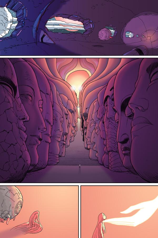 Art by Dave Taylor for Prophet 44 (Source: http://twitpic.com/dz35c1 via Brandon Graham)