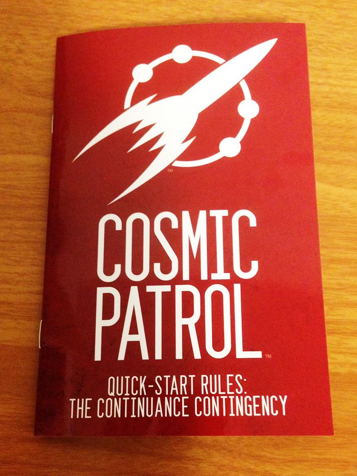 Cosmic Patrol RPG release for Free RPG Day