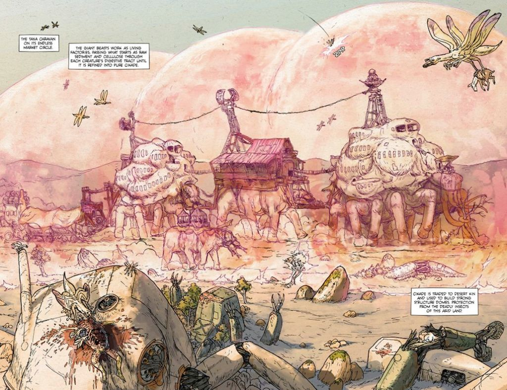 Art by Simon Roy from Prophet (Source: www.imagecomics.com)