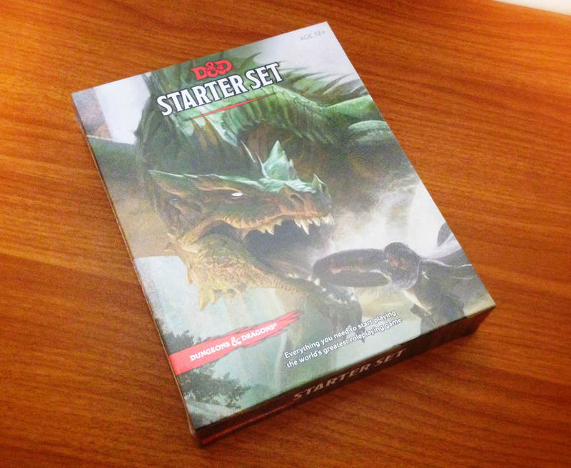 The Dungeons and Dragons Starter Set for 5th Edition released on July 3, 2014.