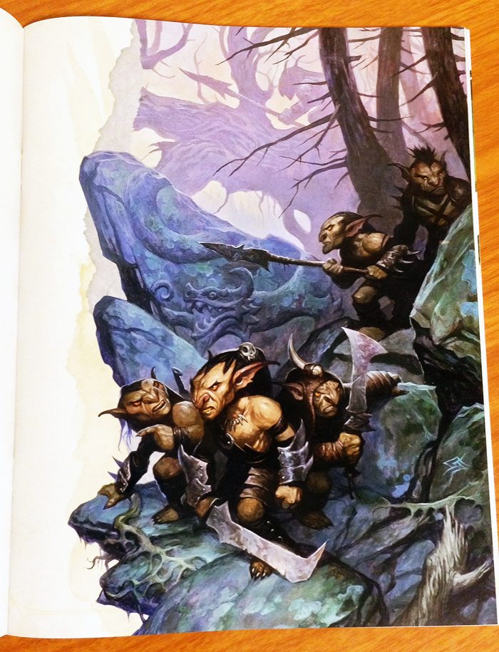 Art piece from the adventure book the Lost Mine of Phandelver included in the Dungeons and Dragons Starter Set.