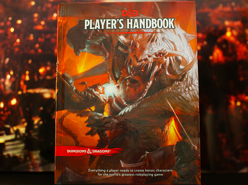 The Dungeons and Dragons Player's Handbook for 5th edition released by Wizards of the Coast on Aug. 8, 2014.