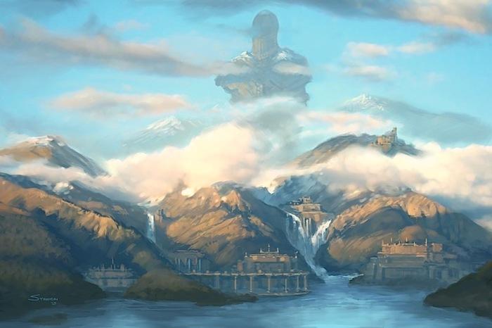 Ardeyn art from The Strange RPG (Source: www.MonteCookGames.com)
