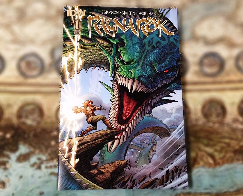 Ragnarok #1 comic by Walt Simonson released by IDW publishing.