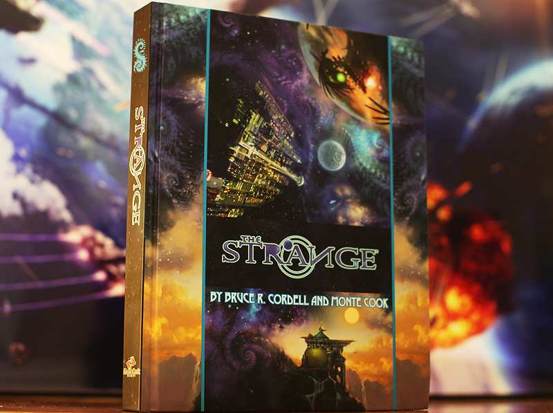 The Strange RPG by Bruce R. Cordell and Monte Cook.