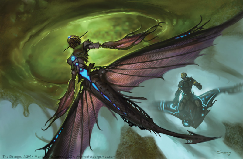 Ruk art from The Strange RPG. (Source: thestrangerpg.com)