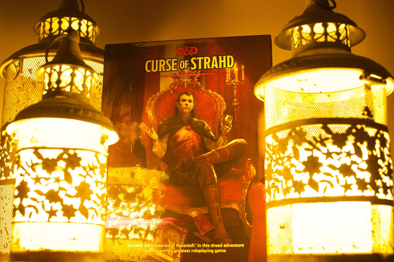 CAPSULE REVIEW – CURSE OF STRAHD – DUNGEONS AND DRAGONS