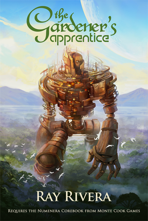 'The Gardener's Apprentice' Numenera adventure released on DriveThruRPG
