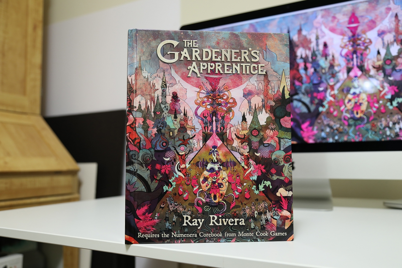 'The Gardener's Apprentice' Numenera RPG adventure released in hardcover format